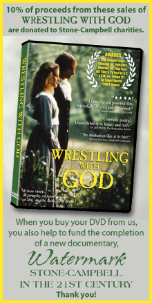 WRESTLING WITH GOD on DVD - 10% of proceeds are donated to charity.